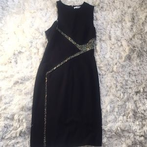 Versace Collection black sheath dress size 40